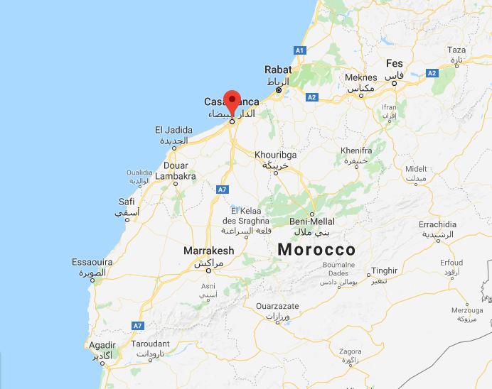 Casablanca mappng