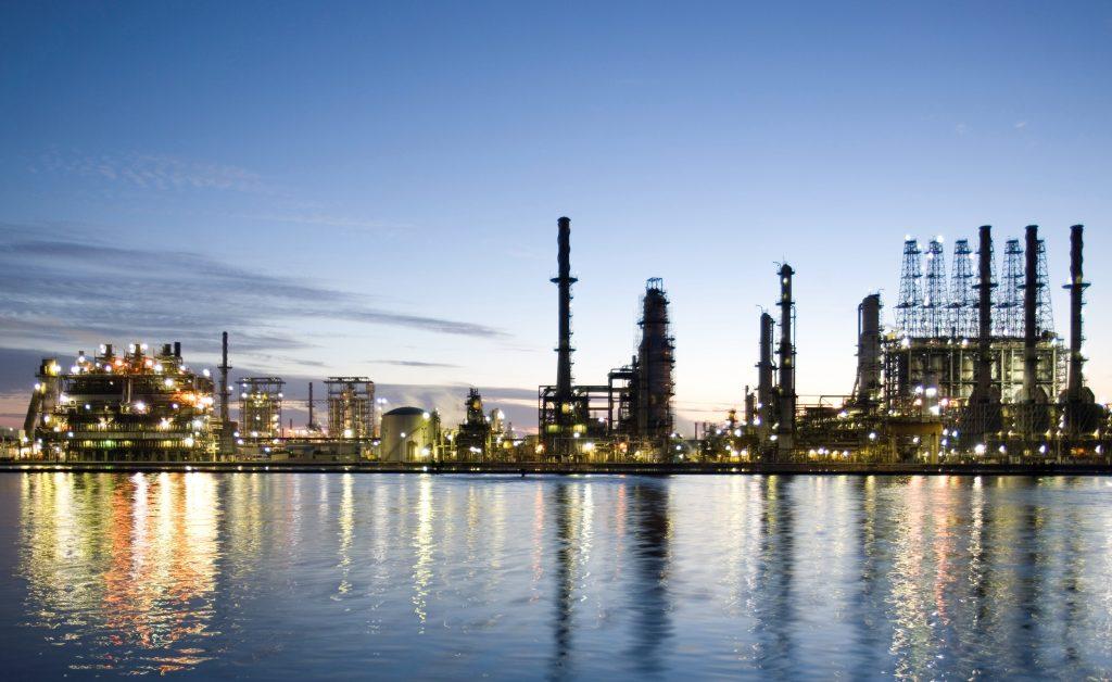 Refinery Sunset Scenic for Oil Guru Recruitment e1339505787369